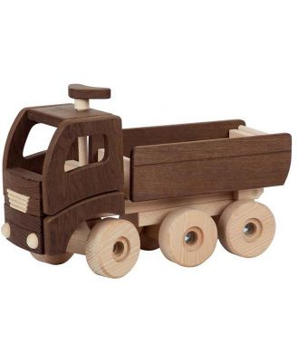 Goki Wooden Nature Dump Truck