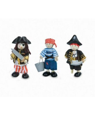 Le Toy Van Budkins Pirate Set