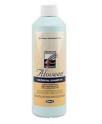 Aloveen Oatmeal Shampoo for Dogs with Sensitive Skin - 500ml