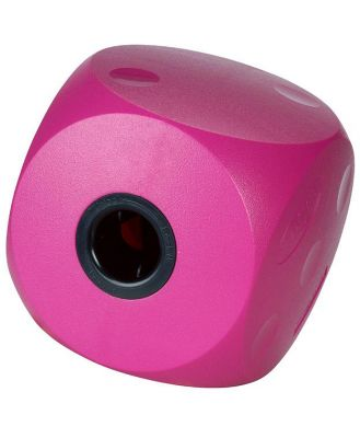 Buster Food Cube Interactive Treat Dispensing Dog Toy - Large - Cherry