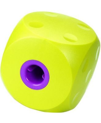 Buster Food Cube Interactive Treat Dispensing Dog Toy - Large - Lime