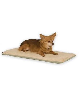 K&H Thermo Dog Low-Voltage Heated Pet Mat in Sage Green