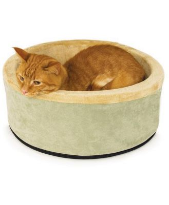 K&H Thermo Kitty Circular heated bed (Sage) 50cm 4w