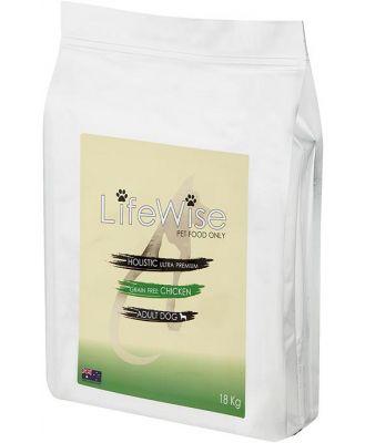 Lifewise Australia Dry Dog Food Grain Free Chicken with Turkey & Vegetables 18kg