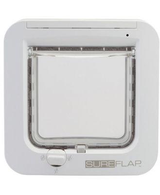 Sureflap Microchip Cat Door Dual Scan -white