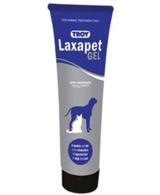 Troy Laxapet Laxative & Hairball Eliminating Gel for Cats and Dogs - 100g