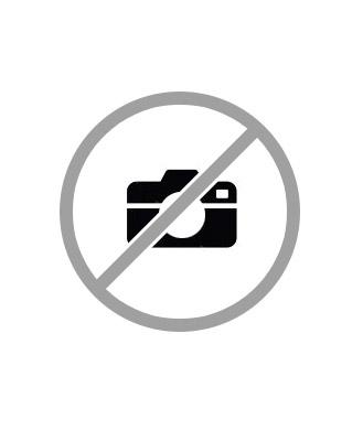 Candy Cane & Mini Snowflake Necklace in Sterling Silver