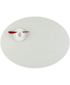 Chilewich Mini Basketweave Oval Placemat