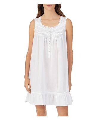 Eileen West Lace-Trim Chemise