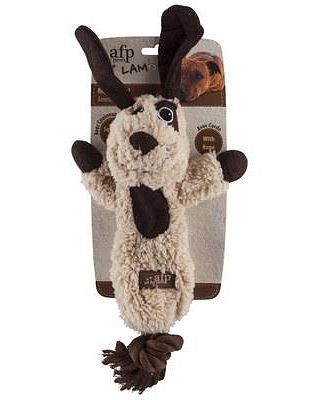 All For Paws (afp) Lambswool Cuddle Rope Toy For Dogs