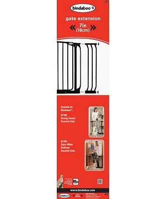 Bindaboo 18cm Security Gate Extension Black