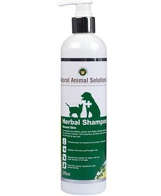 Natural Animal Solutions Normal Herbal Shampoo 375ml