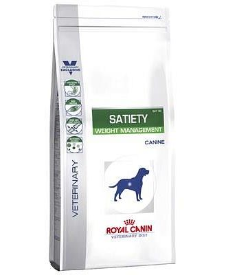 ROYAL CANIN VETERINARY DIET DOG SATIETY 12KG
