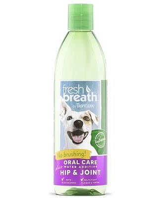 Tropiclean Fresh Breath Plus Water Additive Hip And Joint