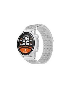 Coros Pace 2 Premium GPS Watch White Nylon Band