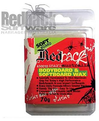 Redback Surfware Soft Bodyboard Wax