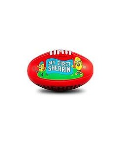 Sherrin My First Soft Touch 20cm Red