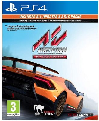 Assetto Corsa Ultimate Edition PS4 Game