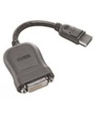Lenovo Displayport To Single-link Dvi-d Adapter Cable 0.2 m