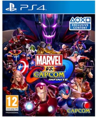 Marvel Vs Capcom Infinite PS4 Game