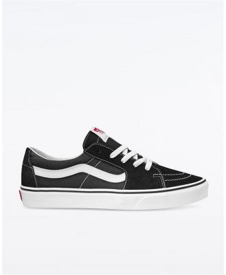 Vans Sk8 Low Black White. Size