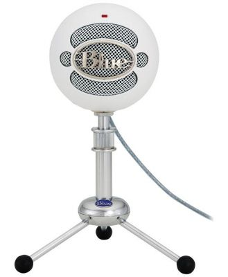 Blue Microphones Snowball White USB Microphone