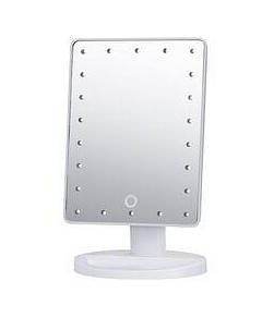 Allure Glamour Makeup Mirror - White