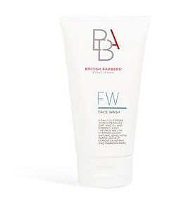 British Barber Association Face Wash Cleanser