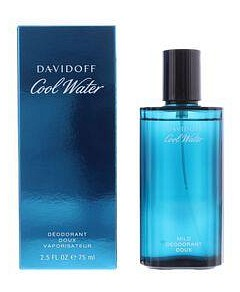 Davidoff Cool Water for Men Deodorant Doux Vaporisateur - 75ml