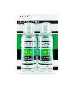 Lavisse Hand Sanitiser Twin Pack -  2 x 60ml