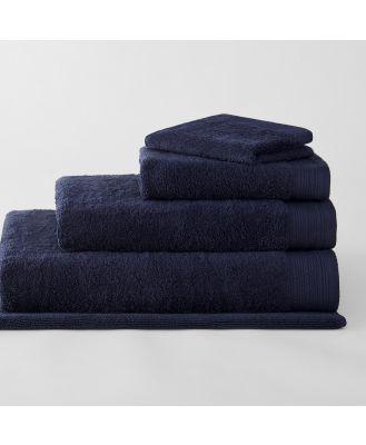 Sheridan Belford Towel Range in Midnight Cotton