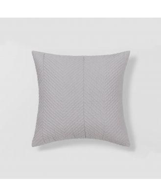 Sheridan Burrell Cushion in Grey Size: 45cm X 45cm Cotton