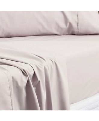Sheridan Everyday Cotton 250TC Fitted Sheet in Natural Size: