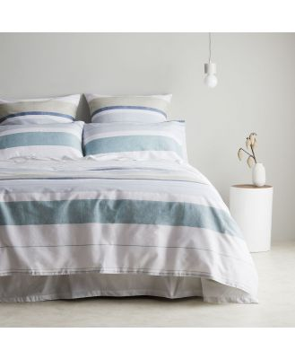 Sheridan Sefton Quilt Cover Set in Dew Cotton