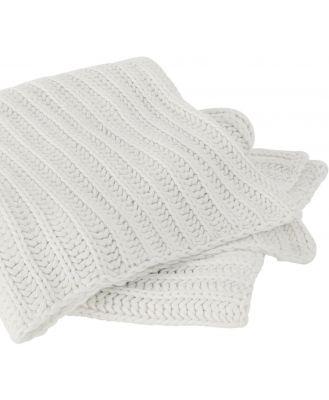 Sheridan Seymour Throw in Antique White Cotton