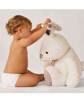 Sheridan Sofie Bunny Baby Toy in White Polyester