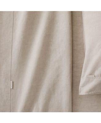 Sheridan Washed Linen Cotton Pair Pillowcase in Natural