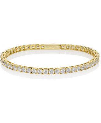 Georgini Gold Plated Selena 3mm Tennis Bracelet