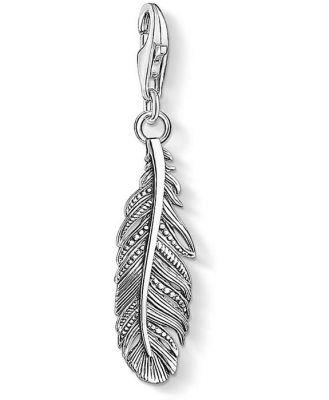 Sterling Silver Thomas Sabo Charm Club Feather