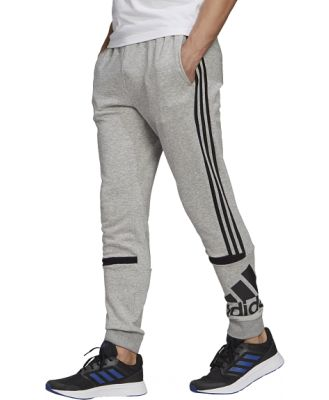 Adidas Essentials Logo Colourblock Cuff Mens Track Pants