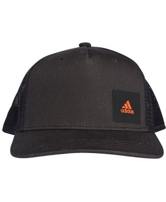 Adidas H90 Training Trucker Cap - Black/Raw Amber/Black