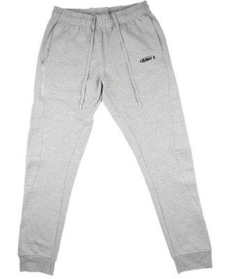 And1 Fleece Mens Track Pants With Zip
