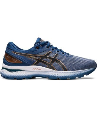 Asics Gel Nimbus 22 - Mens Running Shoes - Sheet Rock/Graphite Grey