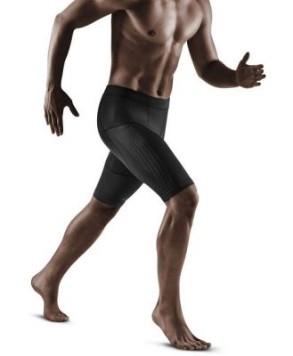 CEP Compression Mens Run Shorts 3.0 - Black