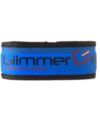 Glimmer Gear LED High Visibility Slap Band - Blue