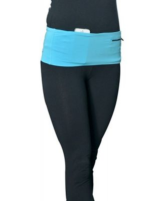 HipS-sister Fashion Sister Reversible Hip Pack - Turquoise/Carbon