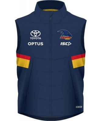 ISC Adelaide Crows Padded Mens Football Vest 2020 - Navy/Red/Gold