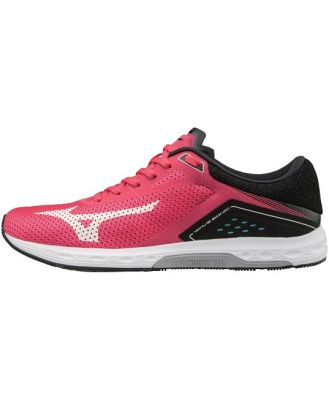 Mizuno Wave Sonic - Womens Running Shoes - Teaberry/Black