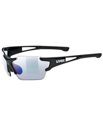 UVEX Sportstyle 803 Race Variomatic Light Reacting Multi Sport Sunglasses - Small - Black