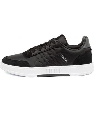 Adidas Courtmaster M Ad Black Black Grey Sneakers Mens Shoes Casual Casual Sneakers